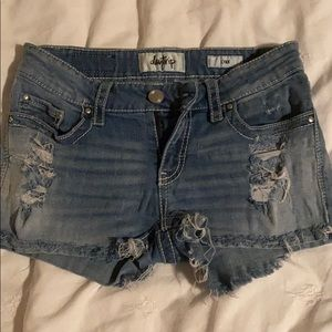 Shorts from buckle